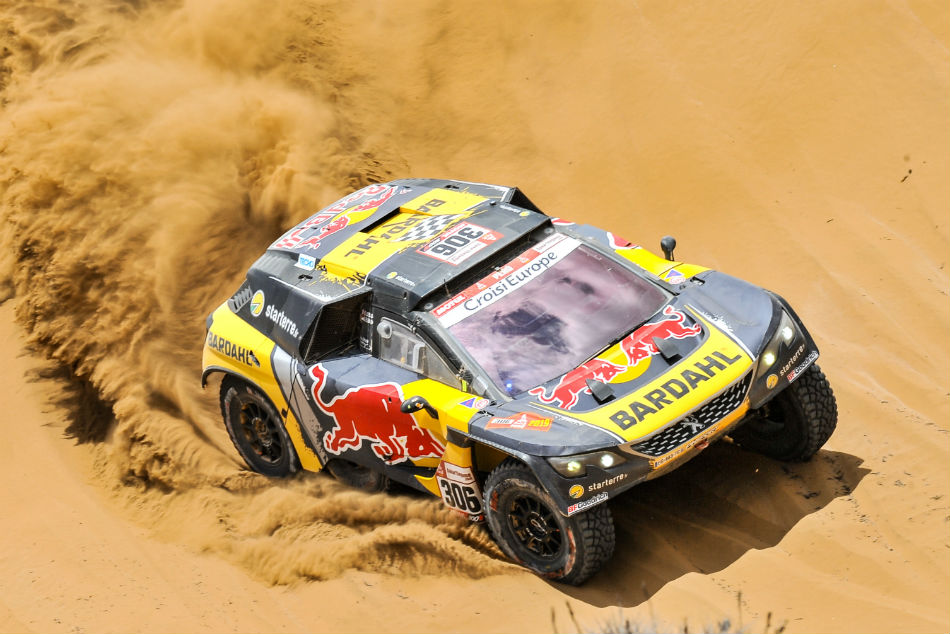 Dakar Rally Loeb Wins Fifth Stage Al Attiyah Stays On Top