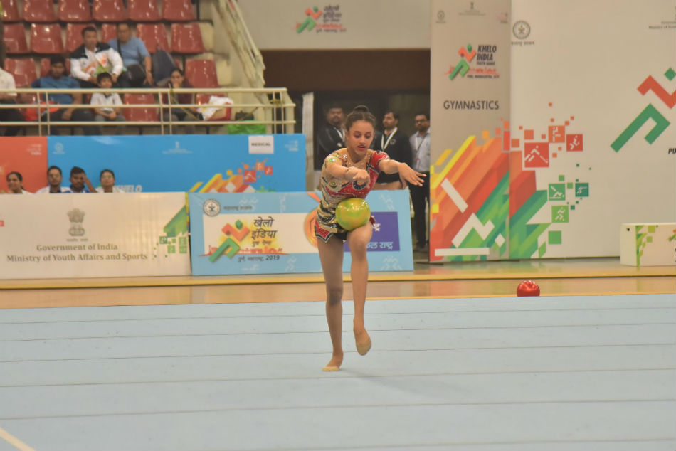 Maharashtra grabbed lions share of medals in gymnastics (Image Courtesy: SAI Media twitter)