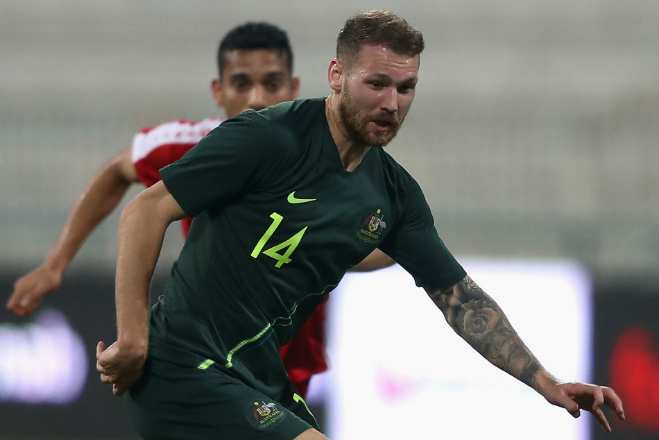 Hibernian S Boyle Of Asian Cup Socceroos Blow