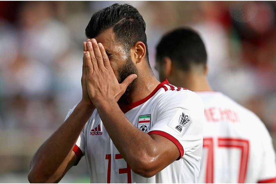 Afc Asian Cup Iran 0 Iraq 0 Team Melli Top Group D After Draw