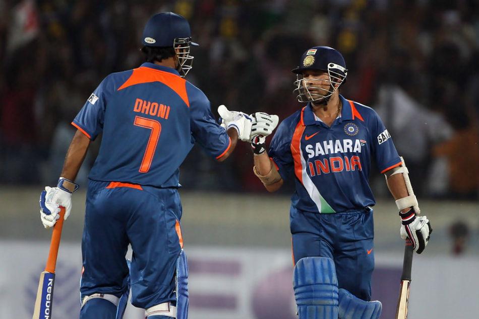 India Vs New Zealand Ms Dhoni Has Chance Surpass This Sachin Tendulkar Record