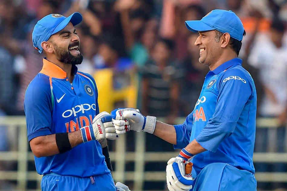 Dhoni Brings Calmness A Big Help To Kohli Rohit Sharma