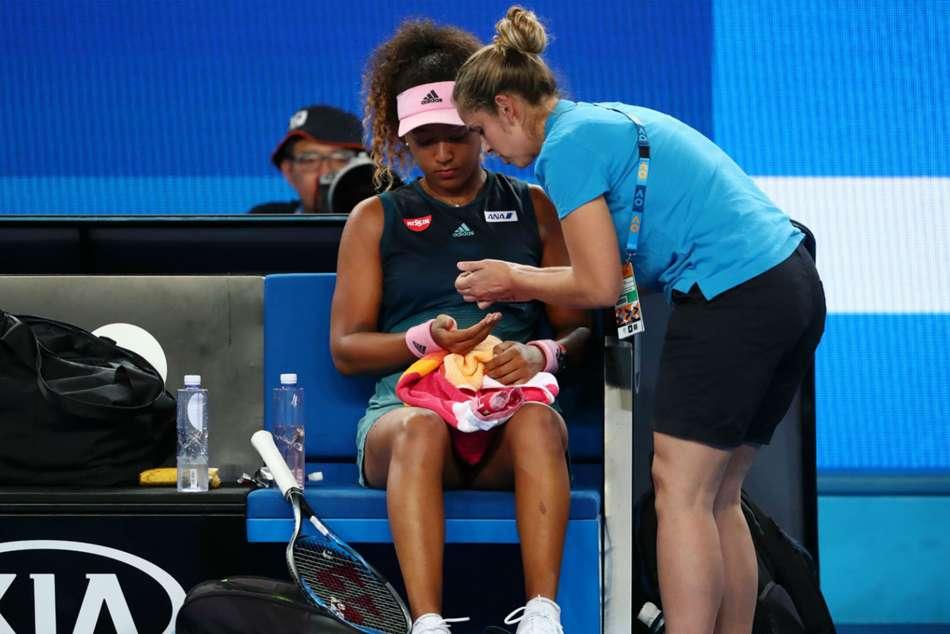 Naomi Osaka Injury Scare Australian Open