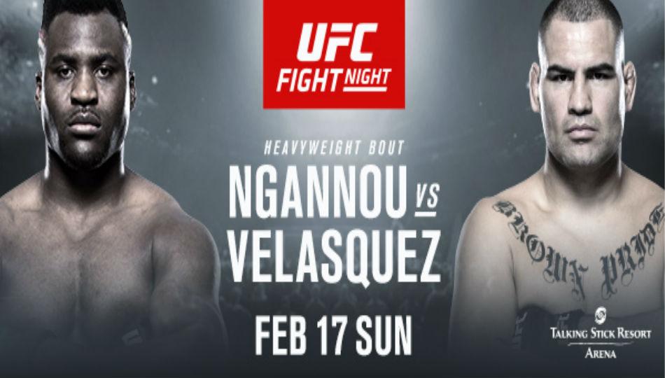 Ngannou Vs Velasquez Headline Ufc Fight Night On Espn