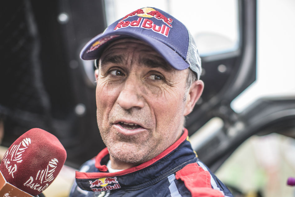 Peterhansel Wins Dakar Seventh Stage Al Attiyah Well On Cou