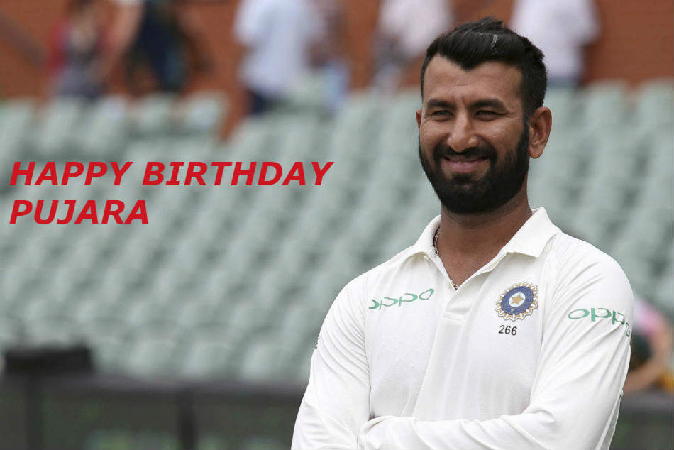 Pujara Turns 31 Wishes Pour For Master Batsman
