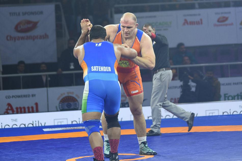Aleksander Helps Haryana Hammers Win Third Straight Tie Pwl