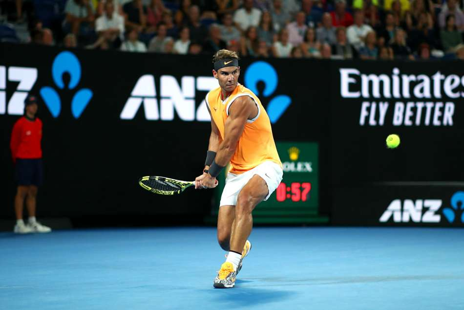 Australian Open Nadal Races Into Third Round With Easy Ebde Win