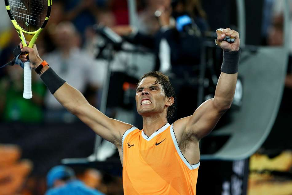 Rafael Nadal Australian Open Semi Finals Stefanos Tsitsipas