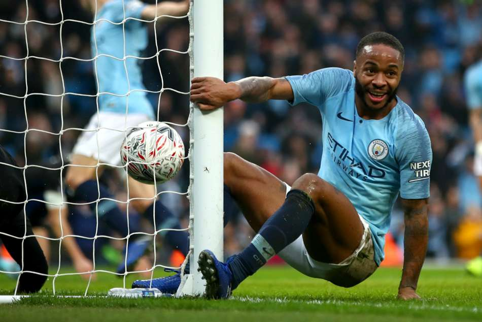 Manchester City 7 Rotherham United 0 Sterling Sharp Fa Cup Procession