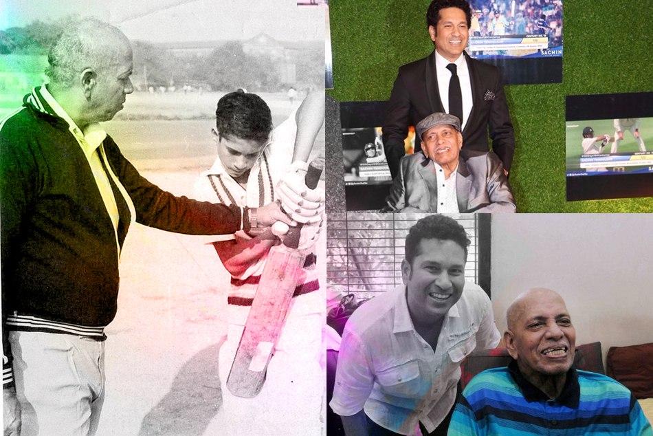 Sachin Tendulkar S Childhood Coach Ramakant Achrekar Passes Away At The Age Of