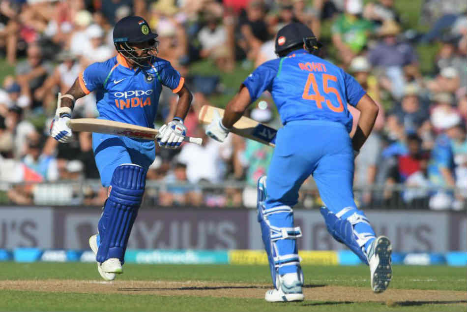 Rohit Sharma And Shikhar Dhawan Added 154 Runs For The Opening Wicket