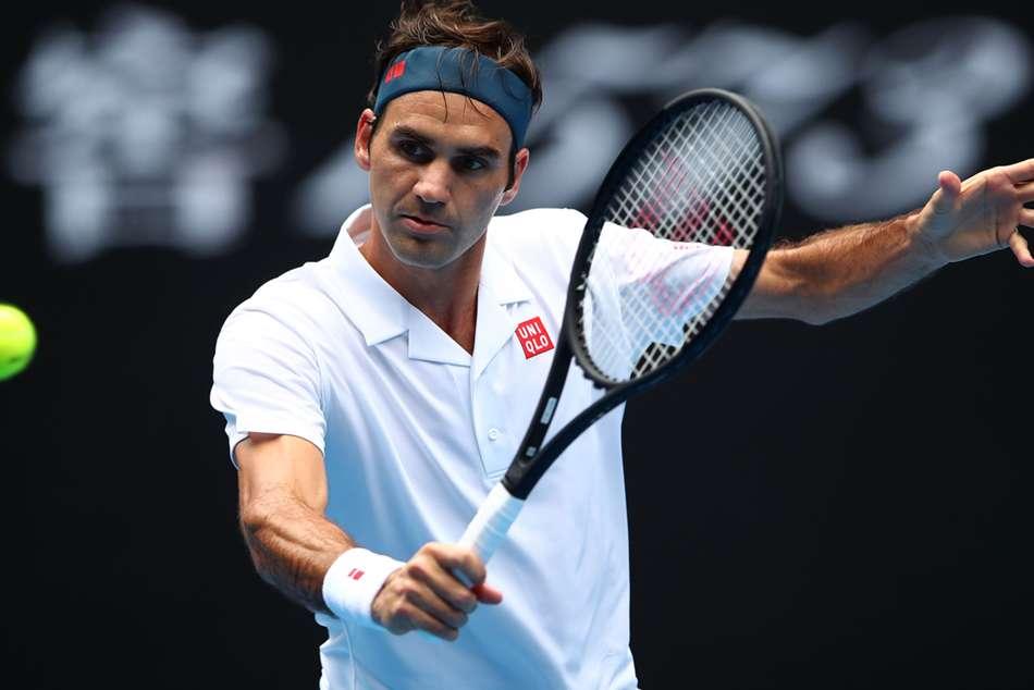 Roger Federer Dan Evans Australian Open