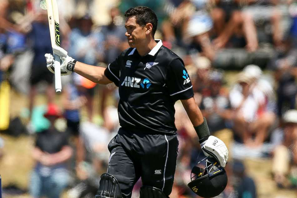 RossTaylor shone for New Zealand with a hundred