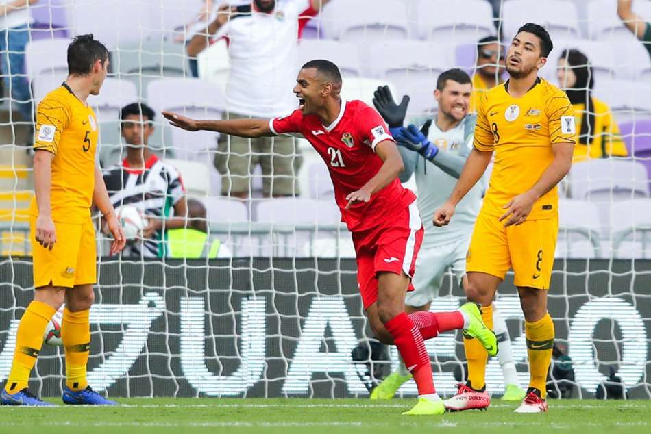 Afc Asian Cup 2019 Australia 0 Jordan 1 Champions Stunned In Group B Opener