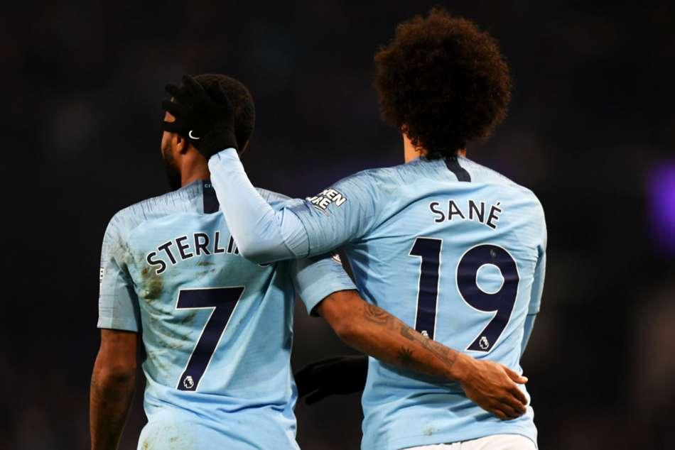 Manchester City Liverpool Leroy Sane Premier League Match Report