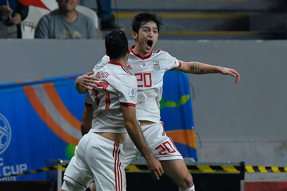 Afc Asian Cup China 0 Iran 3 Azmoun Punishes Lippi S Lacklustre Side