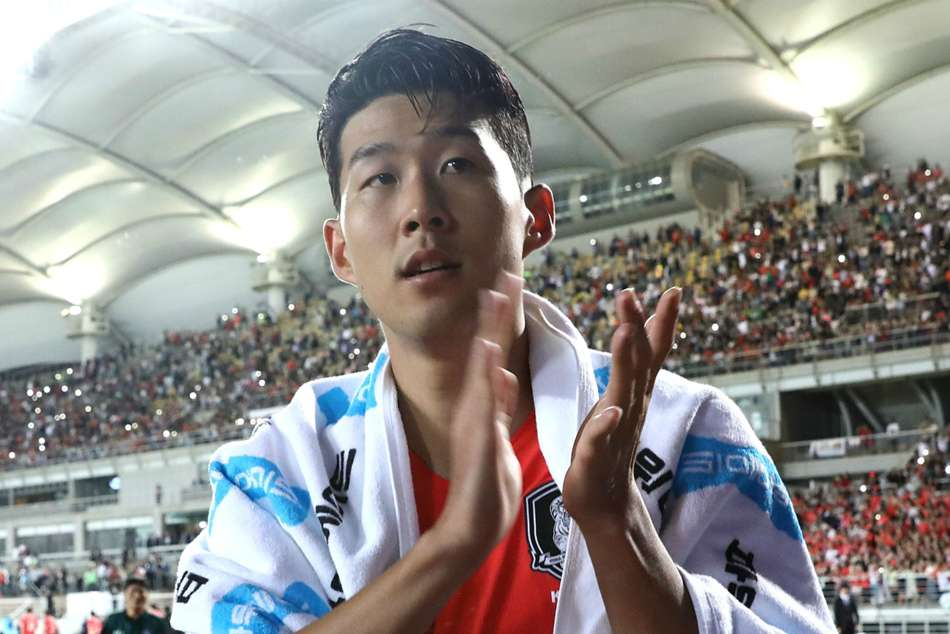 Afc Asian Cup South Korea V China Son Arrives Group C Dead Rubber