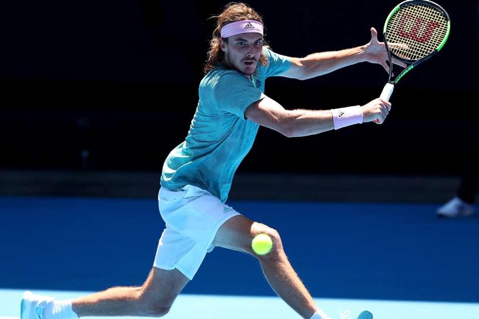 Stefanos Tsitsipas Roberto Bautista Agut Australian Open