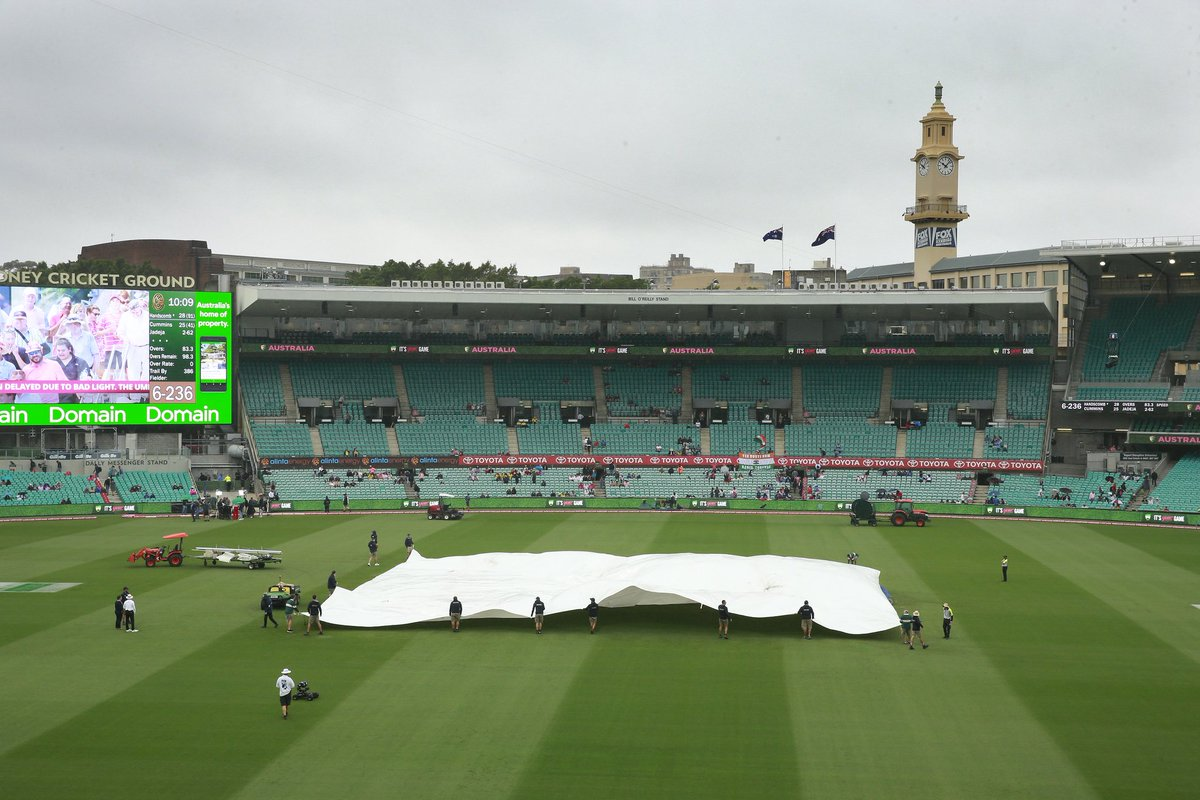 India Vs Australia 4th Test Day 4 Live Updates Sydney