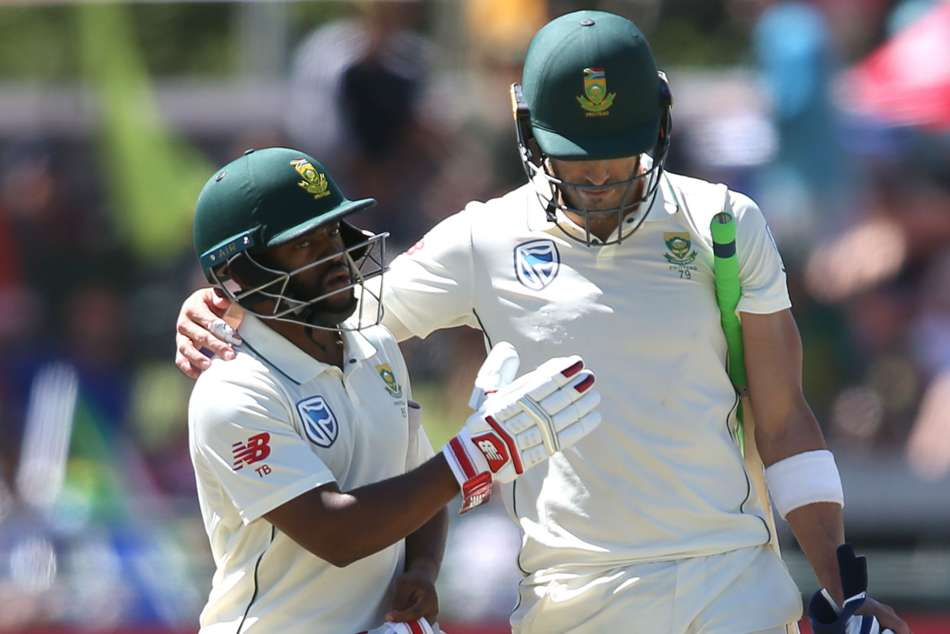 South Africa are in complete control of the Cape Town Test and the series against Pakistan after opening up a lead of 205 on day two.