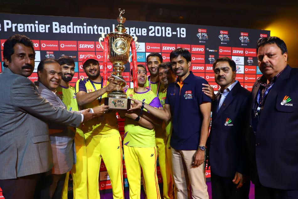 Pbl 2018 Bengaluru Raptors Win Their First Title Full List Of Award Winners