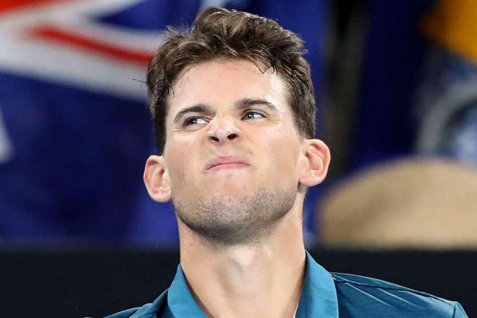 Dominic Thiem Retires Australian Open