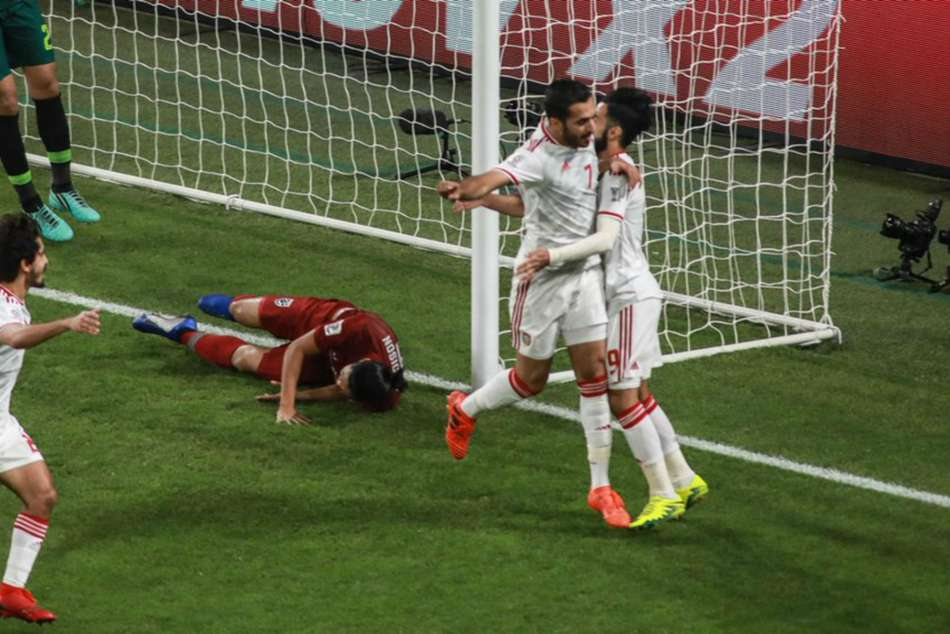 United Arab Emirates Thailand Asian Cup Match Report