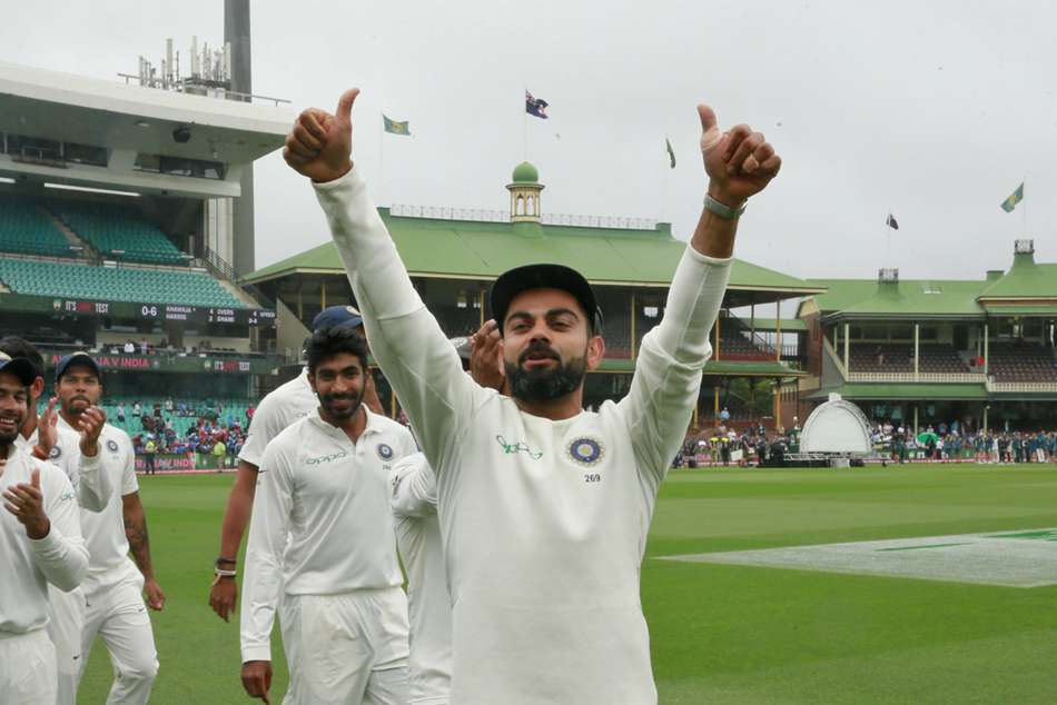 WATCH: Virat Kohli and Co. celebrate series victory with Bharat Army
