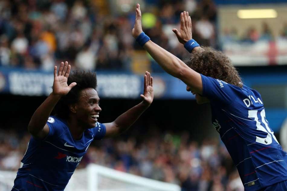 Willian Hopes David Luiz Stays Chelsea Premier League