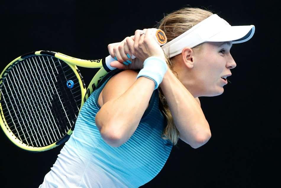 Caroline Wozniacki Melbourne Australian Open