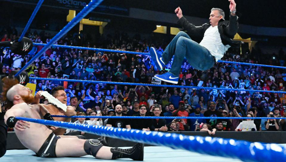 Wwe Smackdown Live Results Highlights January 15 2019