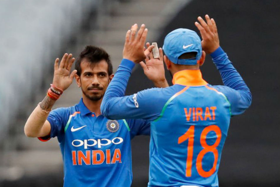India Vs Australia Yuzvendra Chahal Grabs Six For Equals Best Figures From An Indian Australia