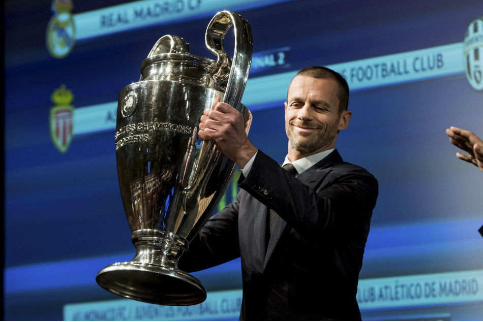 Aleksander Ceferin is the only candidate this time in the election for the UEFA president