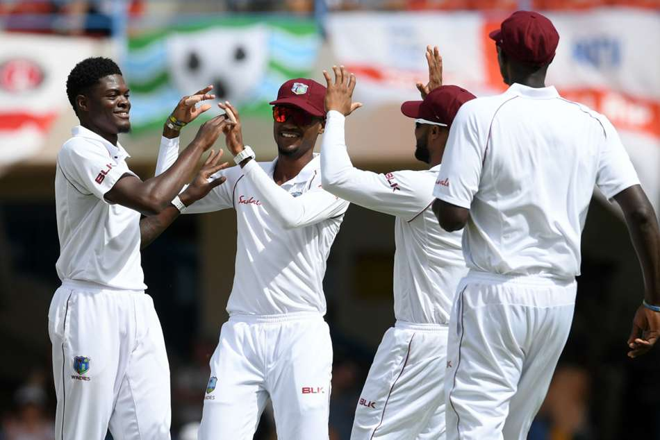 West Indies Claim Opening Day Honours On Lively Antigua Pitc