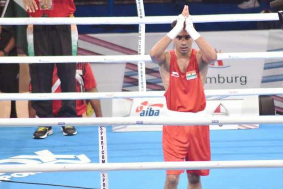 Strandja Boxing Amit Phangal Leads India S Surge