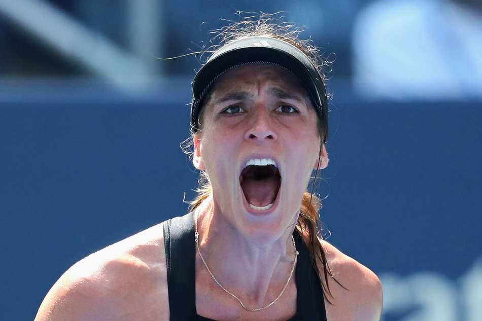 Andrea Petkovic Cruises Ana Bogdan Hungarian Ladies Open