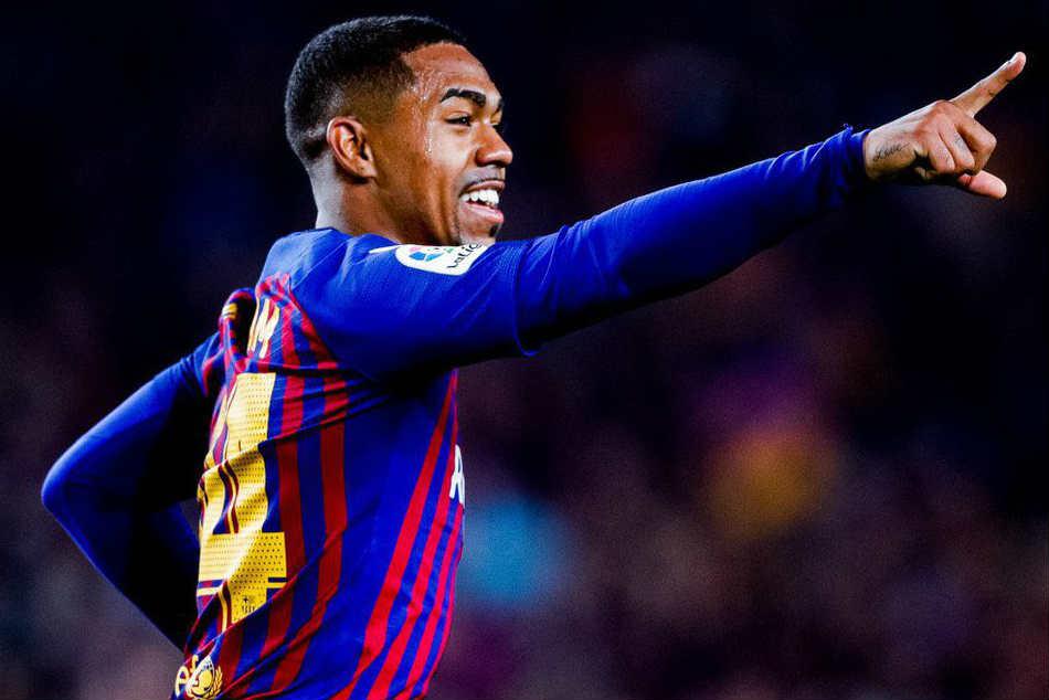 Malcom S Strike Helps Barcelona Hold Real Madrid Copa Del Rey