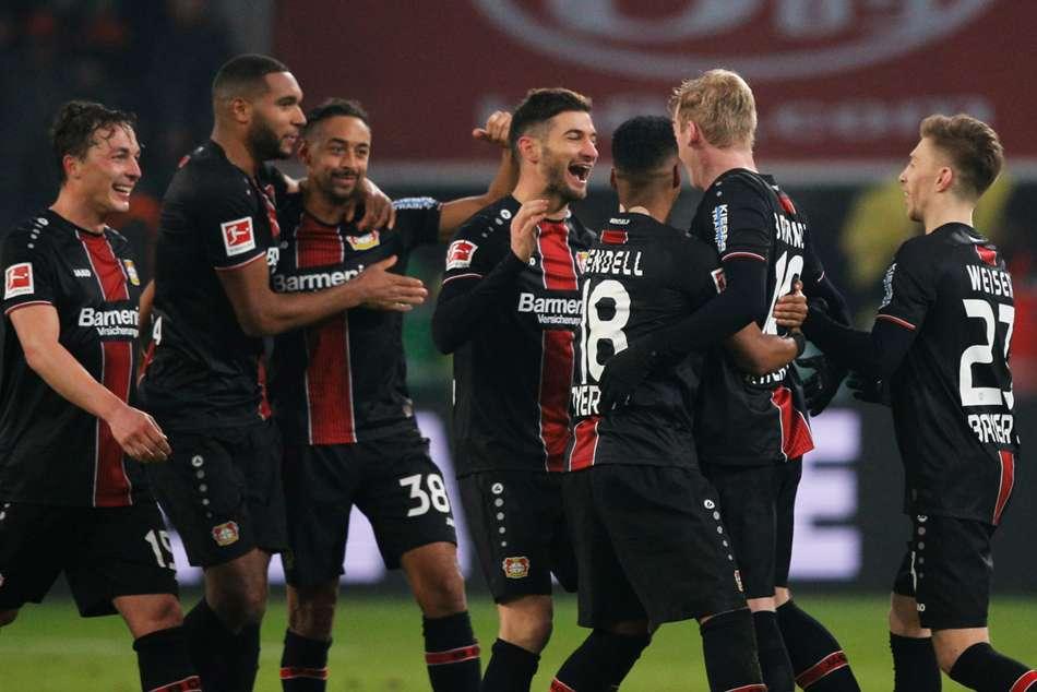Bayer Leverkusen 3 Bayern Munich 1 Bailey Volland Alario Down Champions