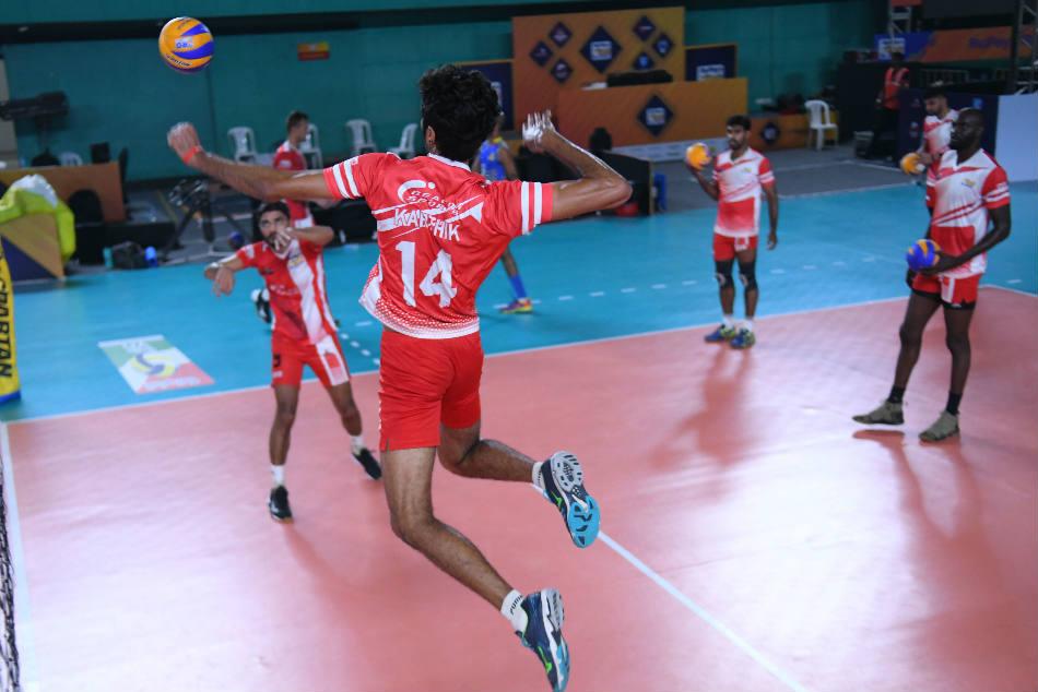 Pro Volleyball League Upbeat Calicut Heroes Take On U Mumba Volley