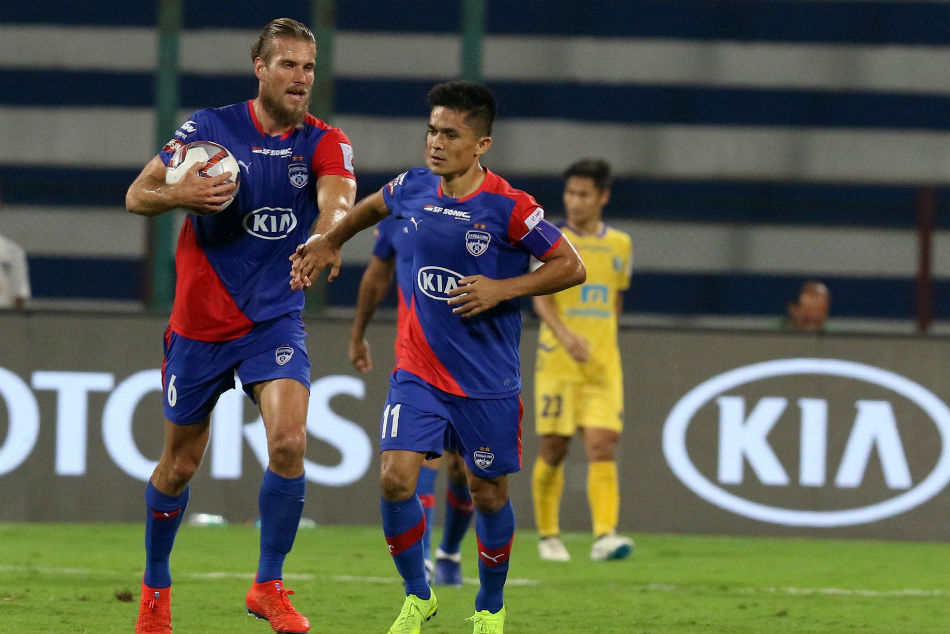 Bengaluru Fc Fight Back Snatch Point From Kerala Blasters