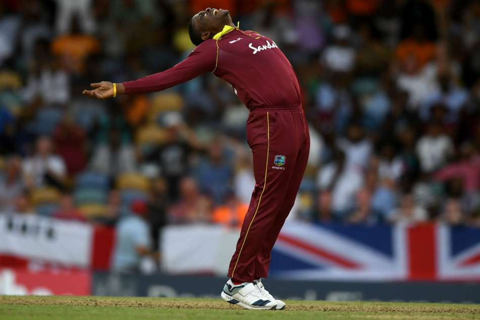 England West Indies Second Odi Cottrell Hetmyer Star Series Level