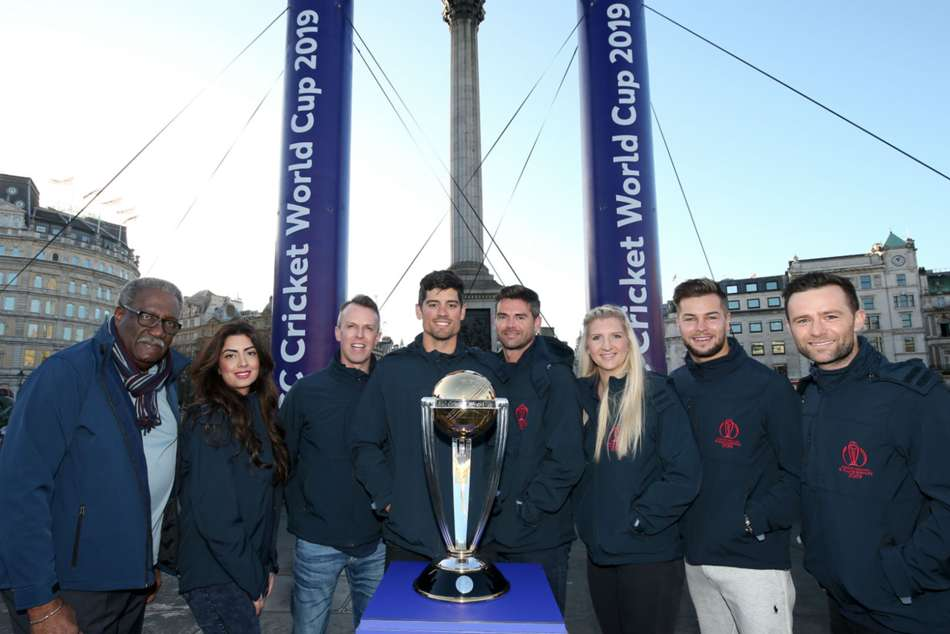 Days To Go Cricket World Cup Takes Over Trafalgar Square