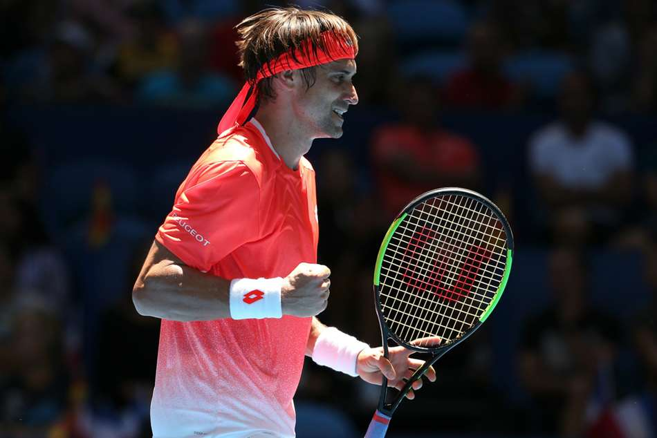 Spanish veteran David Ferrer