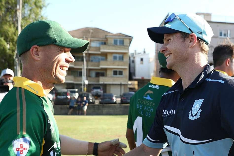 Steve Smith David Warner Justin Langer Australia Cricket World Cup