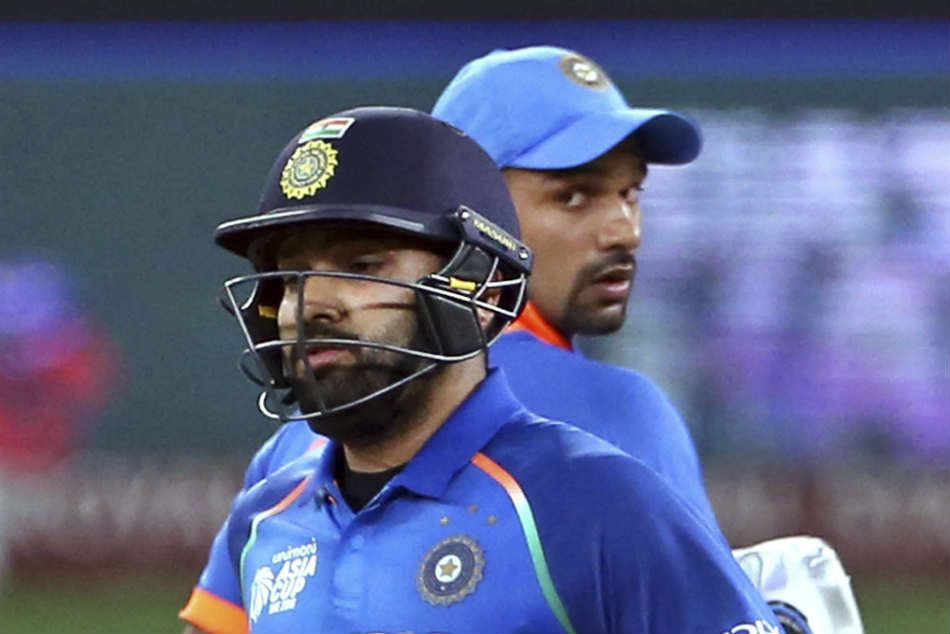 Dhawan Opens Up About His Opening Partnership With Rohit Sharma