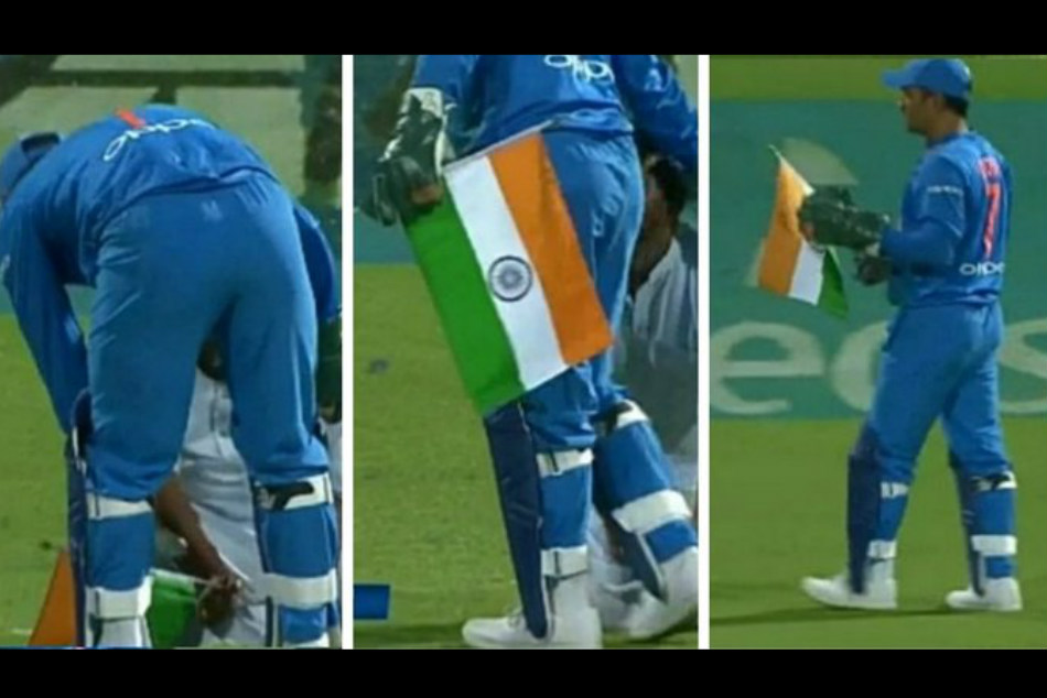 Ms Dhoni Wins Heart With His Love Indian National Flag Watch