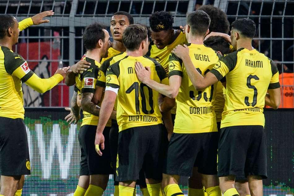 Borussia Dortmund 3 Bayer Leverkusen 2 Sancho Stars As Bosz Loses Signal Iduna Park Return