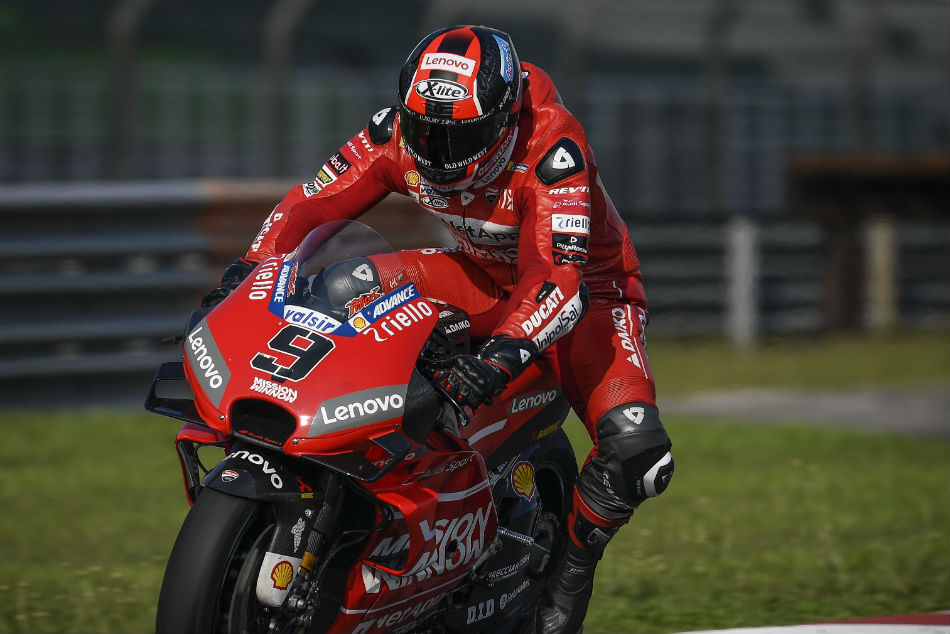 Ducati Dominates On The Final Day Motogp Pre Season Tests At