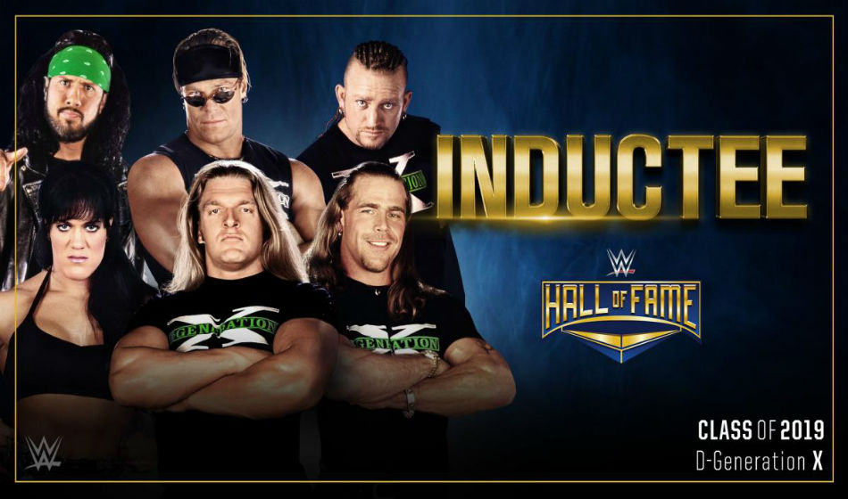Dx Named First Inductees 2019 Wwe Hall Of Fame